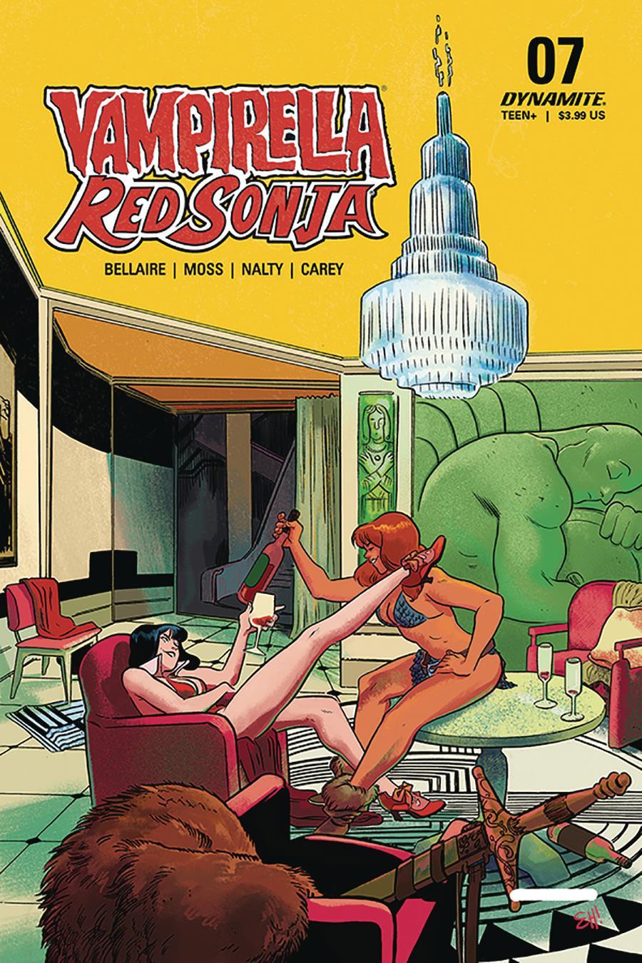 Vampirella Red Sonja #7 Cover B Variant Erica Henderson Cover