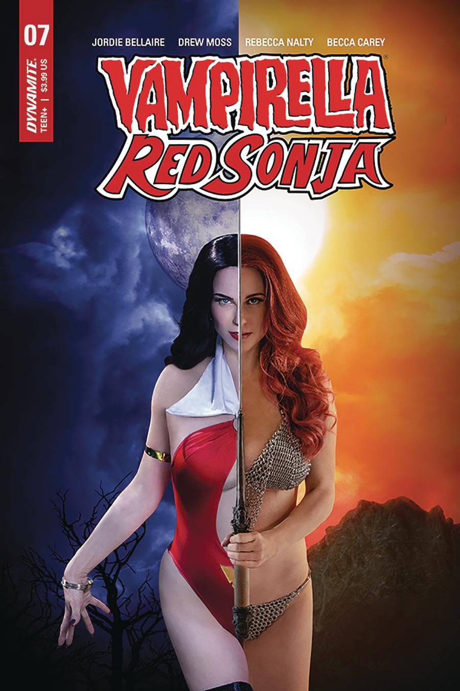 Vampirella Red Sonja #7 Cover D Variant Shannon Kingston Cosplay Photo Cover