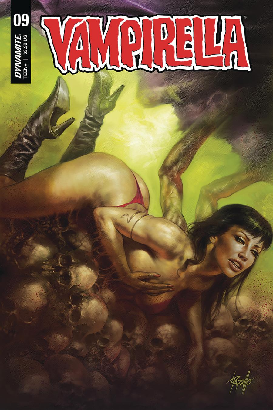 Vampirella Vol 8 #9 Cover A Regular Lucio Parrillo Cover