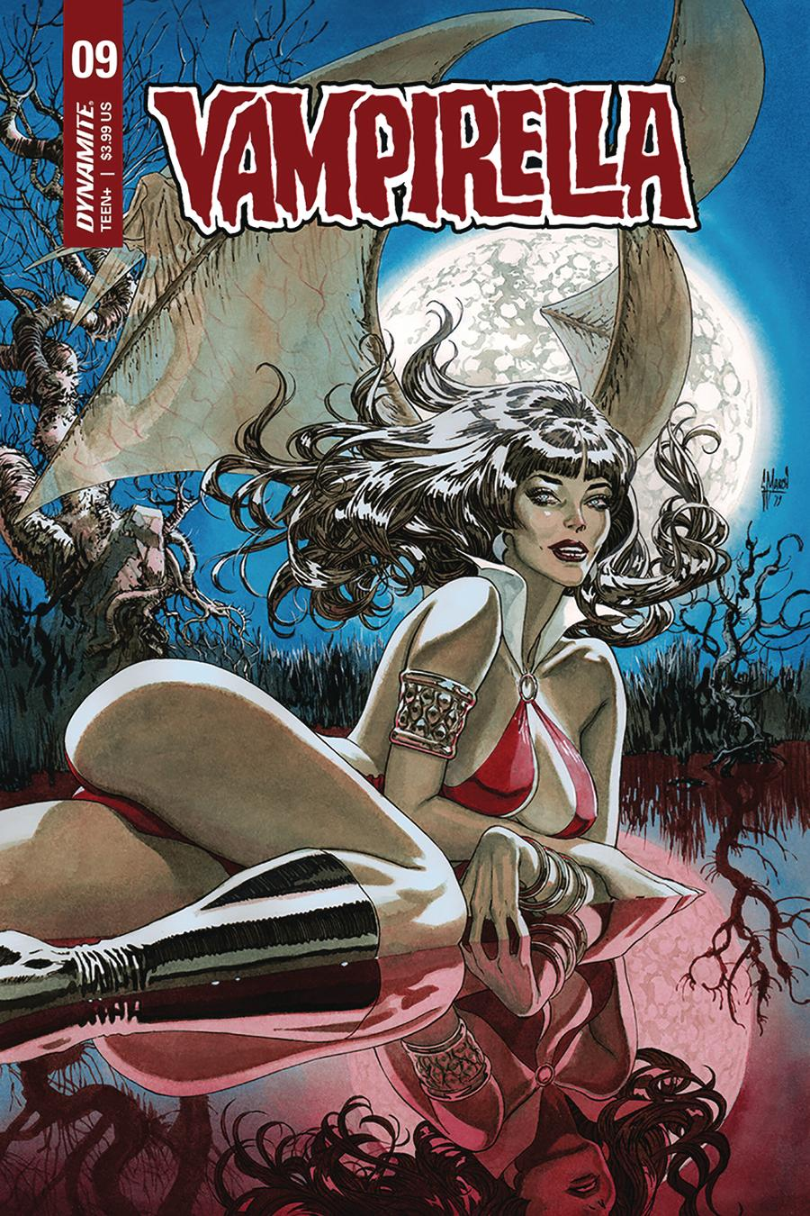 Vampirella Vol 8 #9 Cover B Variant Guillem March Cover