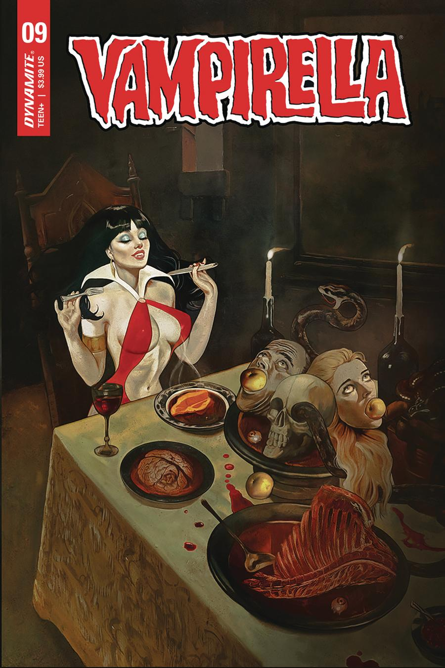Vampirella Vol 8 #9 Cover C Variant Fay Dalton Cover