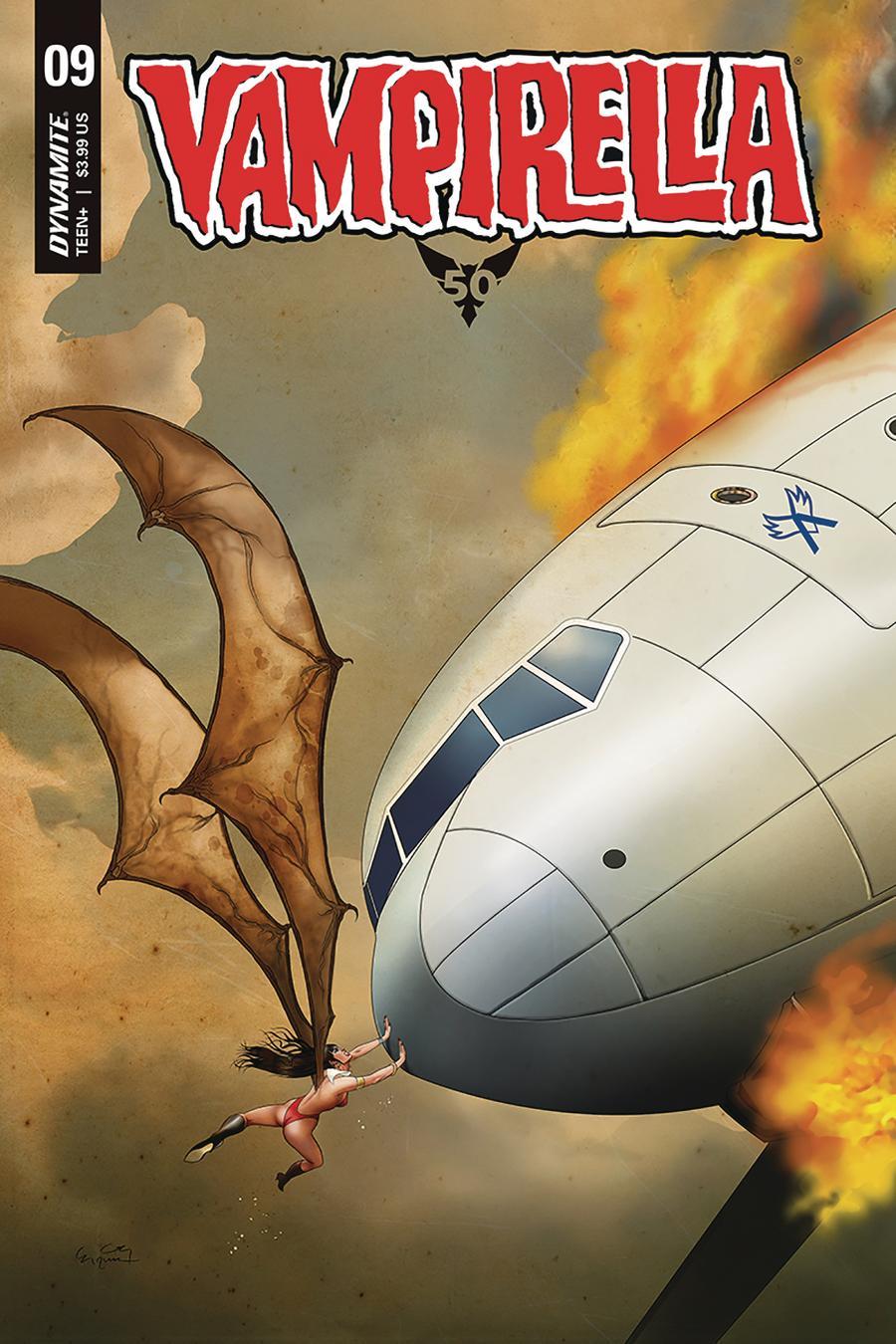 Vampirella Vol 8 #9 Cover D Variant Ergun Gunduz Cover