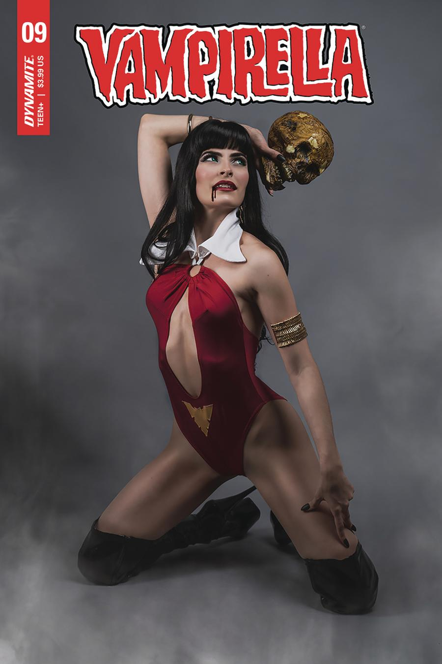 Vampirella Vol 8 #9 Cover E Variant Teena Titan Cosplay Photo Cover