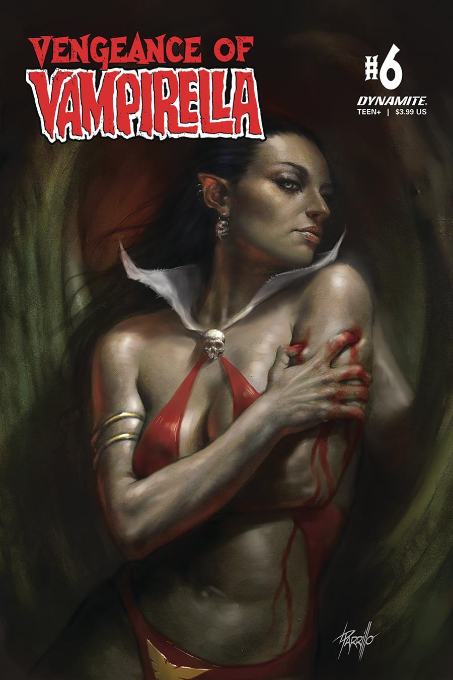 Vengeance Of Vampirella Vol 2 #6 Cover A Regular Lucio Parrillo Cover