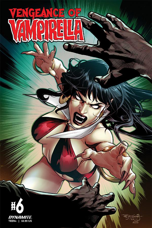 Vengeance Of Vampirella Vol 2 #6 Cover C Variant Stephen Segovia Cover