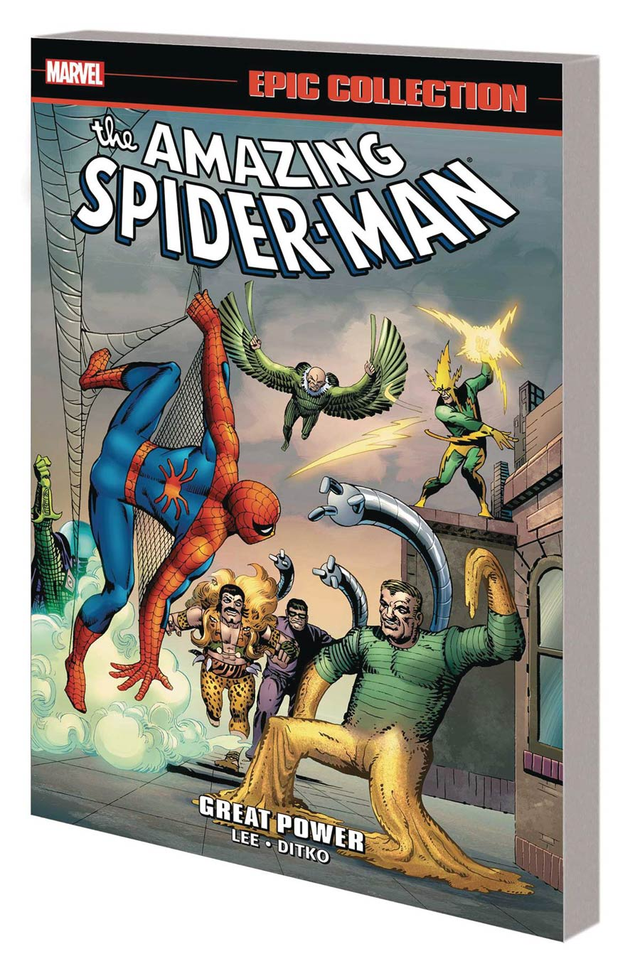 Amazing Spider-Man Epic Collection Vol 1 Great Power TP New Printing