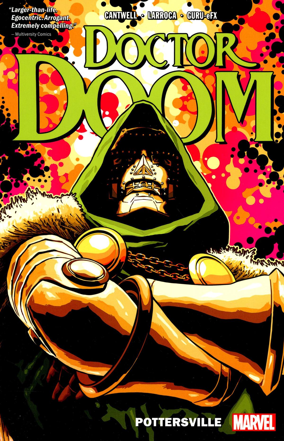 Doctor Doom Vol 1 Pottersville TP
