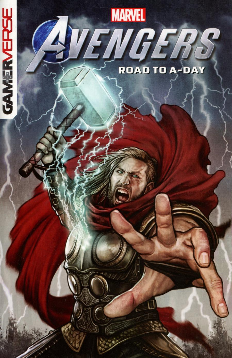 Marvels Avengers Road To A-Day TP (Gamerverse)
