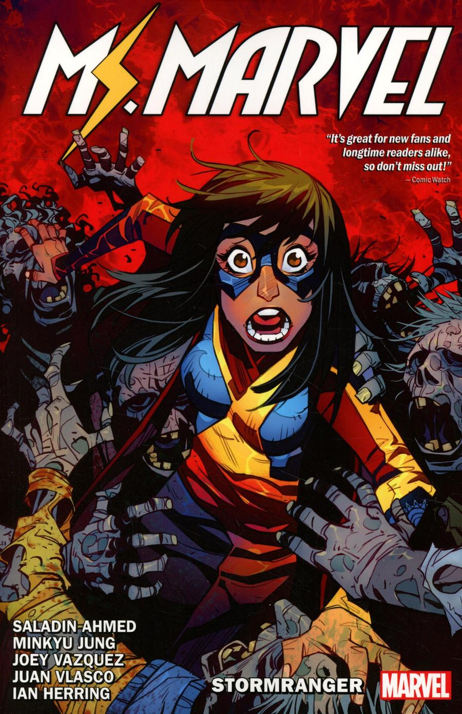 Ms Marvel By Saladin Ahmed Vol 2 Stormranger TP