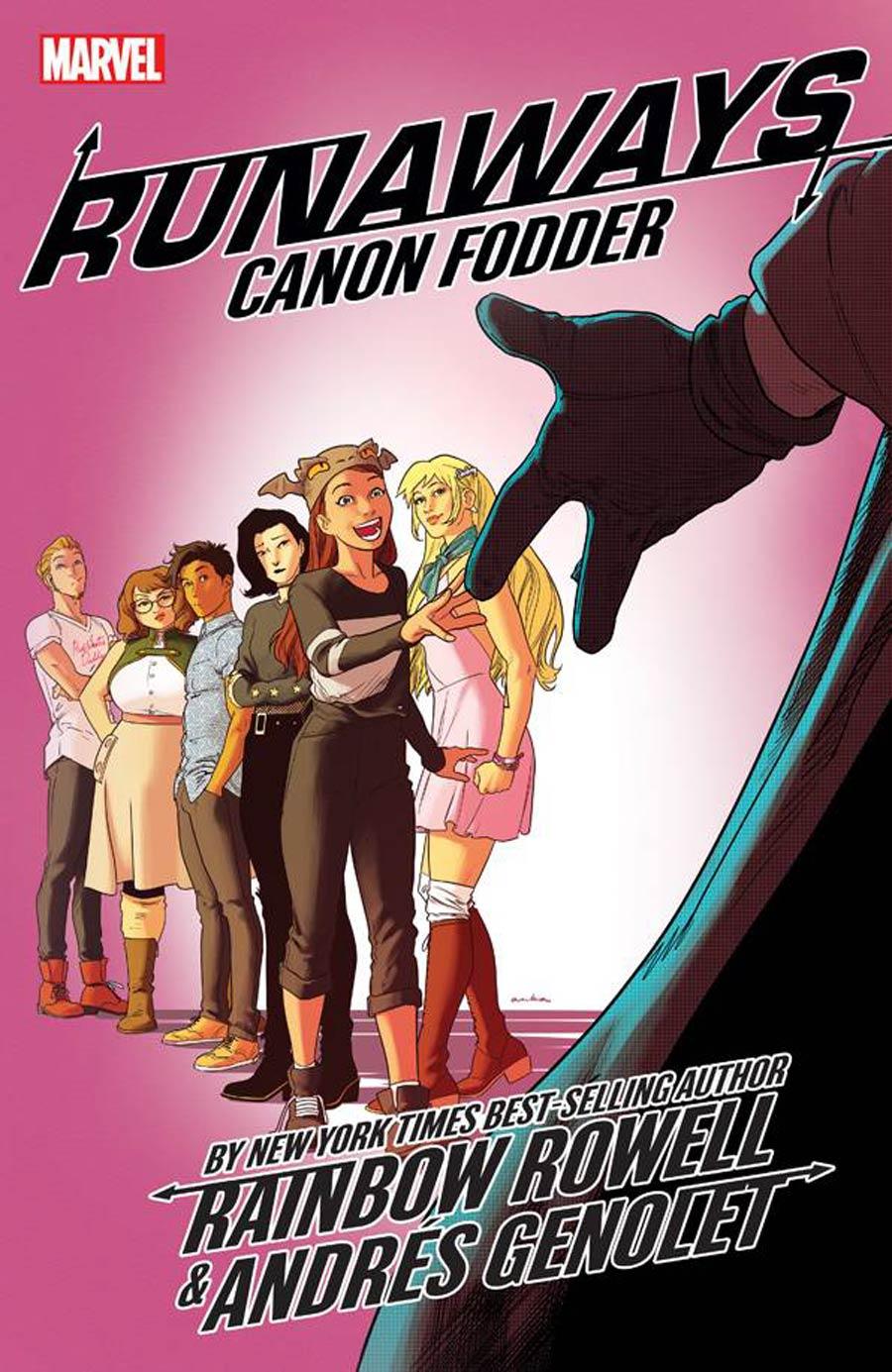 Runaways By Rainbow Rowell Vol 5 Cannon Fodder TP
