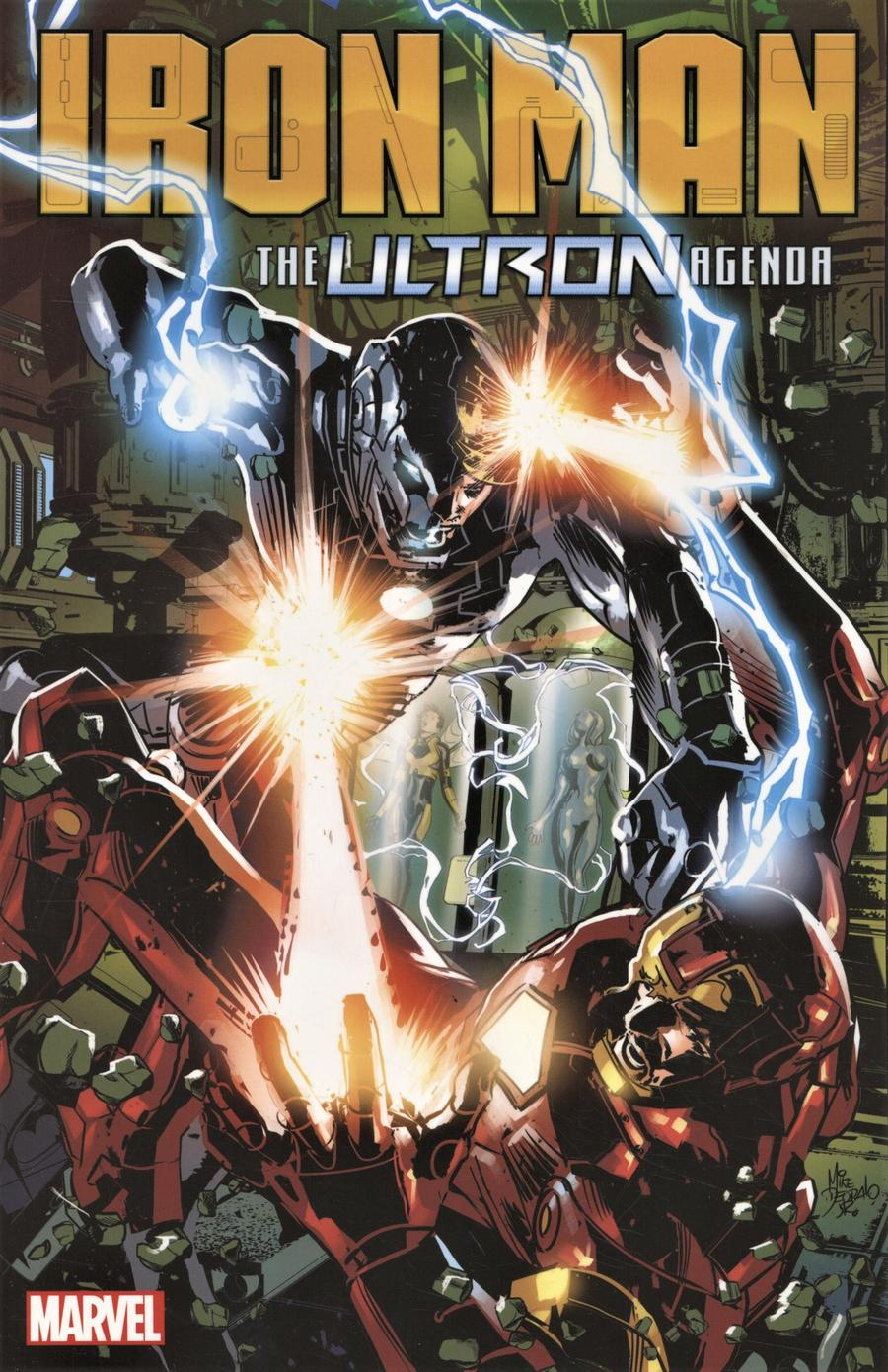 Tony Stark Iron Man Vol 4 Ultron Agenda TP