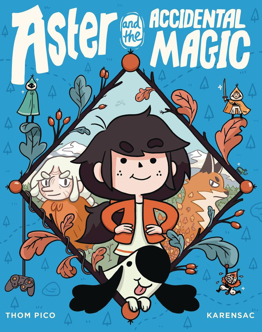 Aster And The Accidental Magic HC