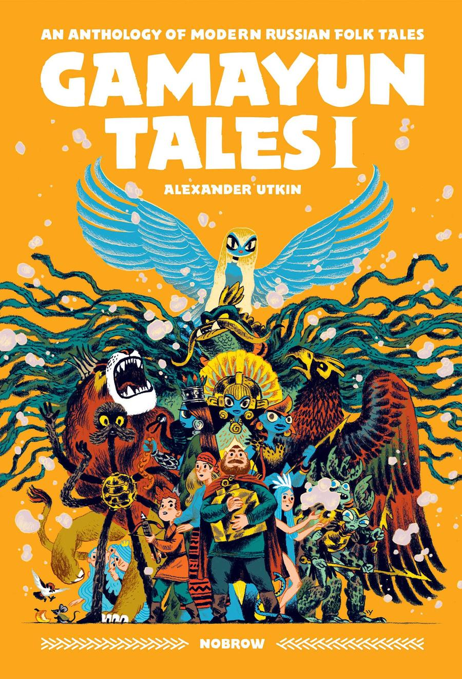 Gamayun Tales Vol 1 GN