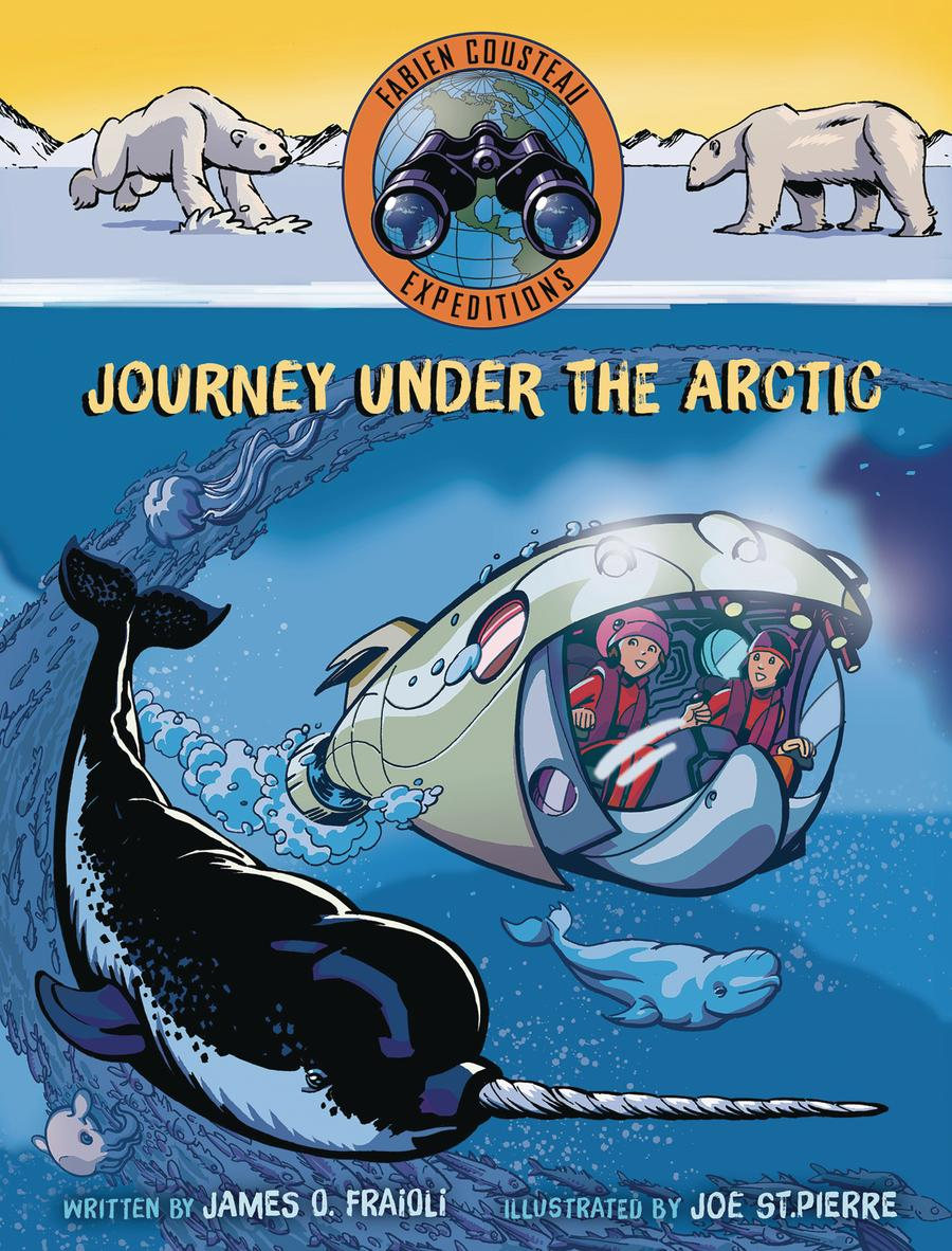 Journey Under The Arctic HC With Dust Jacket