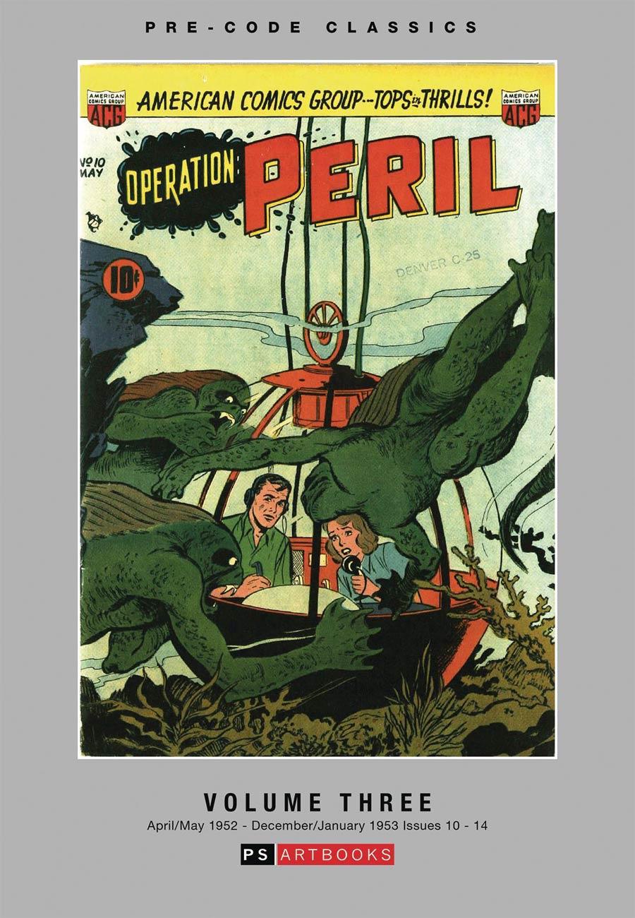 Pre-Code Classics Operation Peril Vol 3 HC