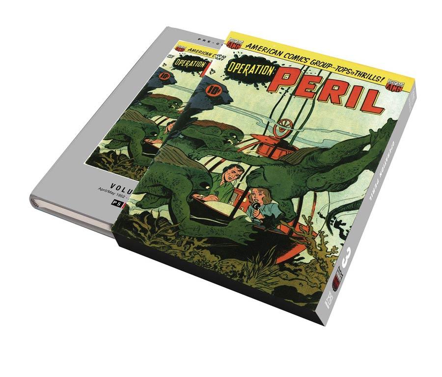 Pre-Code Classics Operation Peril Vol 3 HC Slipcase Edition
