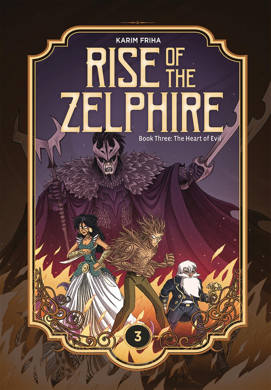 Rise Of The Zelphire Book 3 Heart Of Evil HC