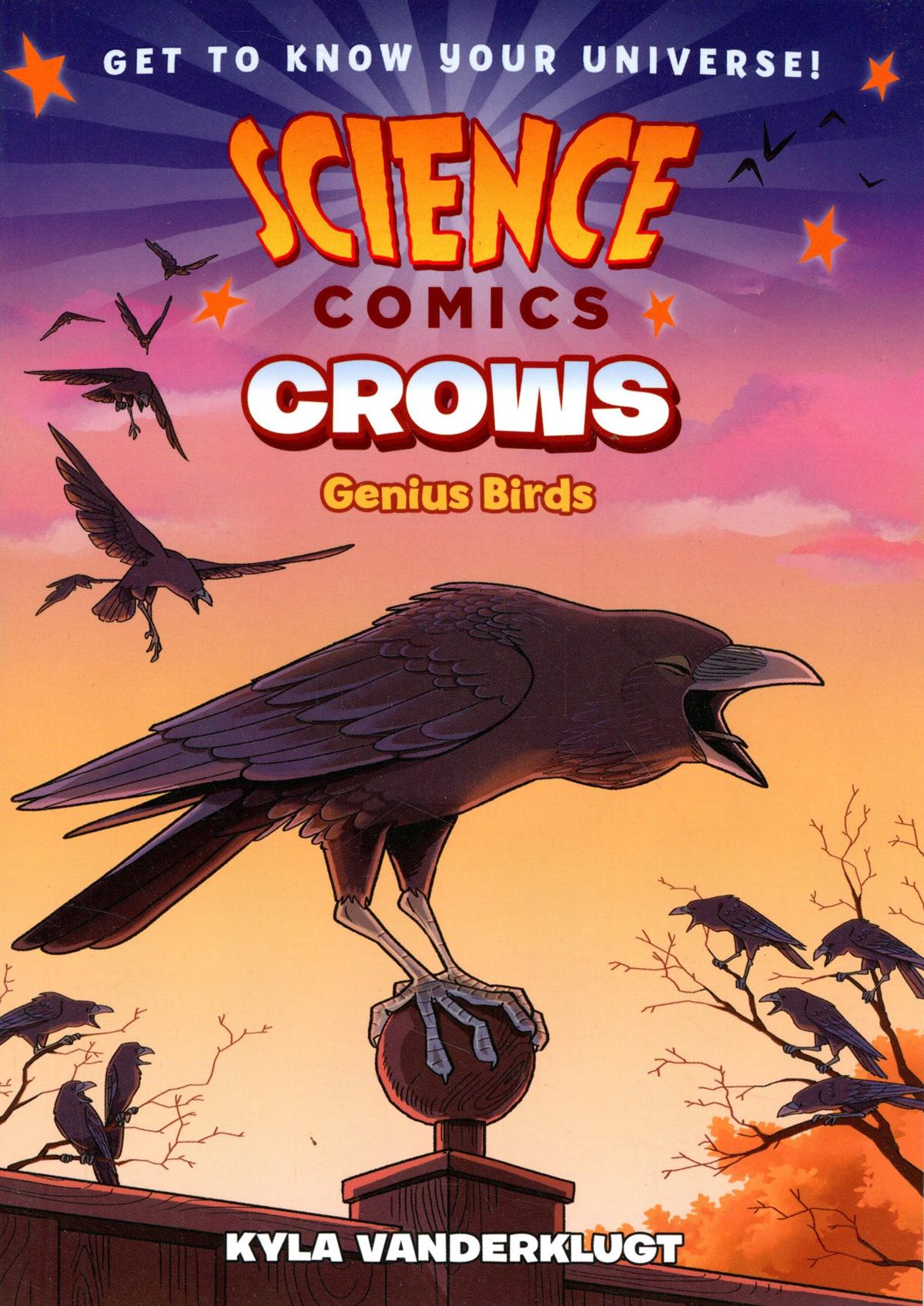 Science Comics Crows Bird Geniuses TP