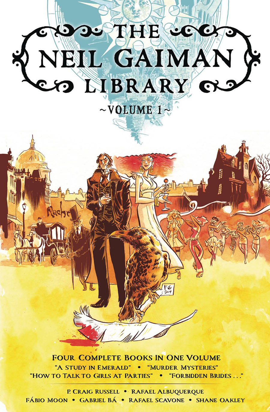 Neil Gaiman Library Edition Vol 1 HC