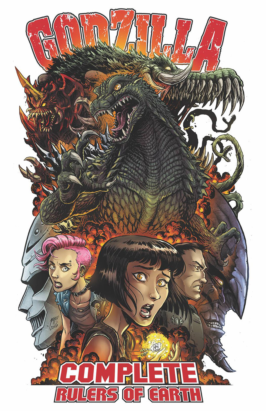 Godzilla Complete Rulers Of Earth Vol 1 TP New Edition