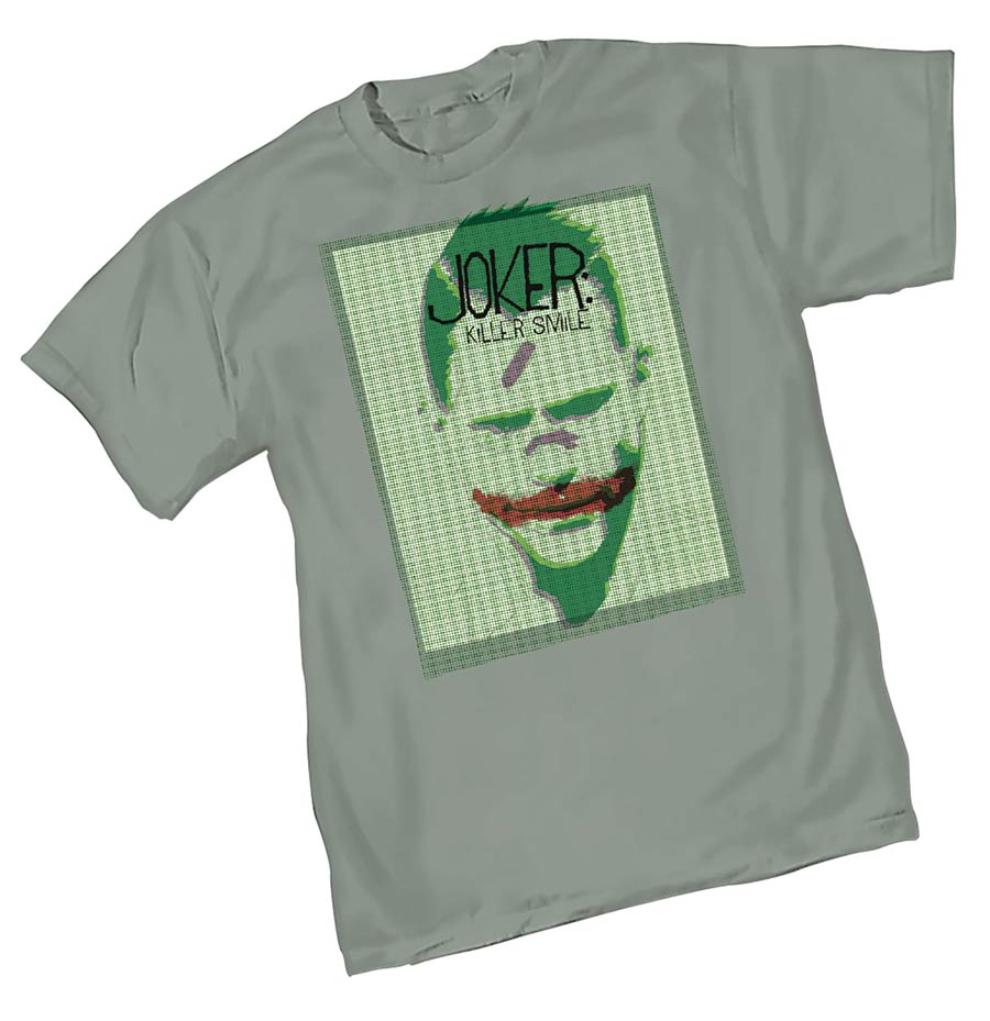 Joker Killer Smile T-Shirt Large