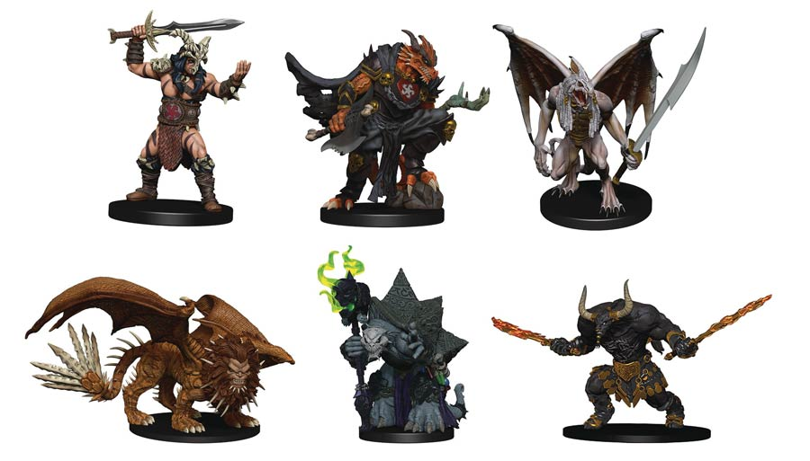 Dungeons & Dragons Icons Of The Realms Figure Pack - Avernus Dark Order