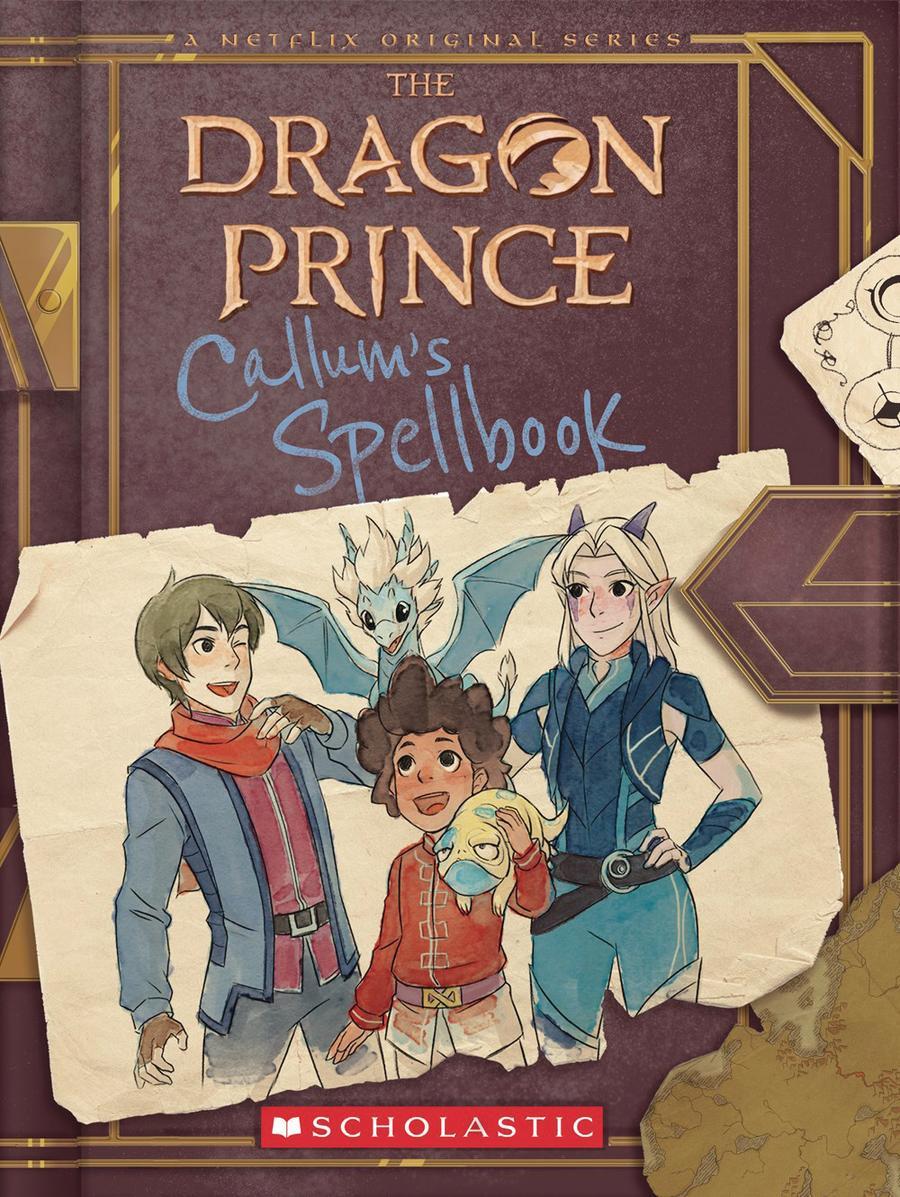 Dragon Prince Callums Spellbook SC