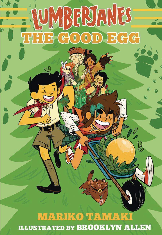 Lumberjanes Illustrated Novel Vol 3 Good Egg TP