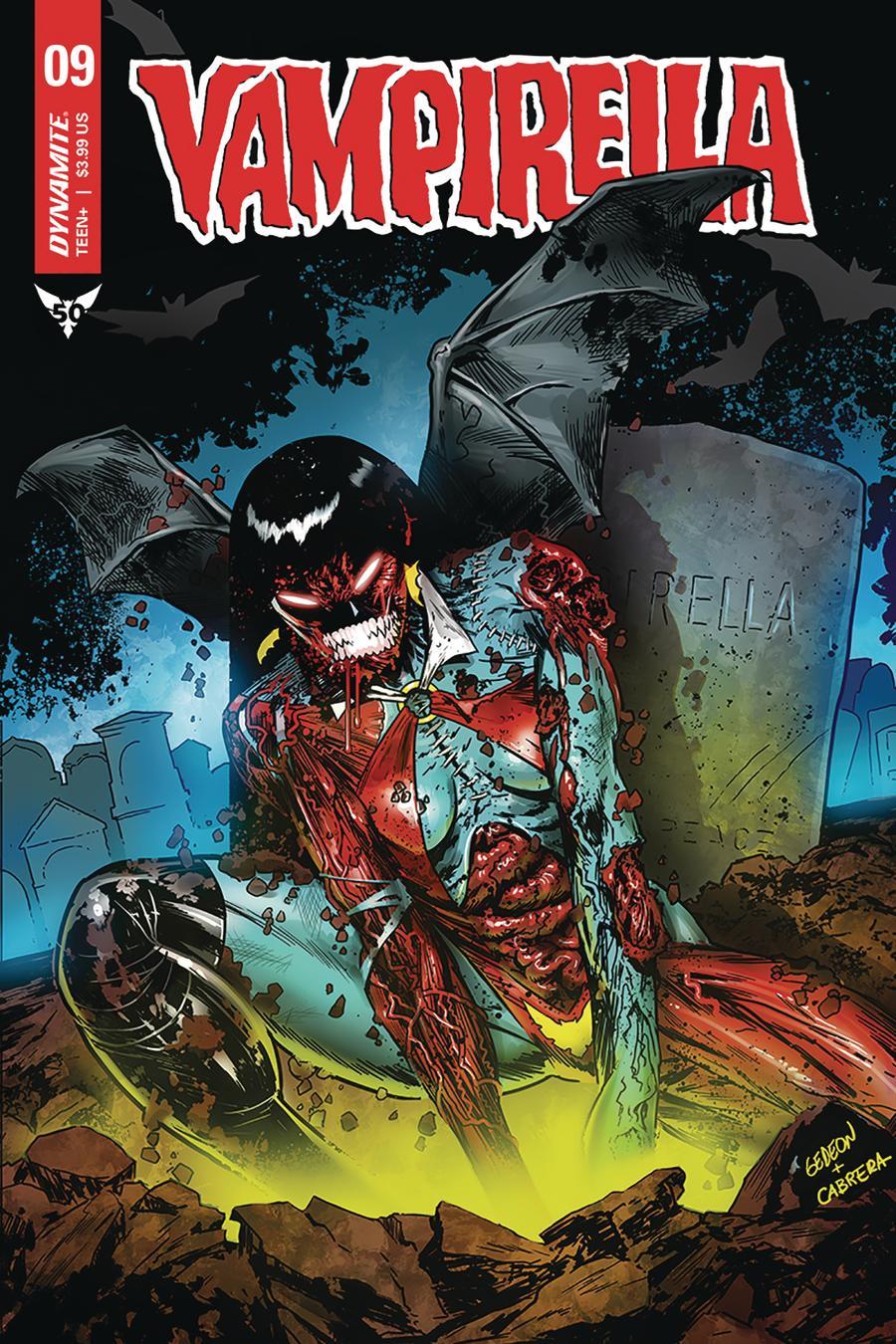 Vampirella Vol 8 #9 Cover I Incentive Juan Gedeon Zombie Variant Cover