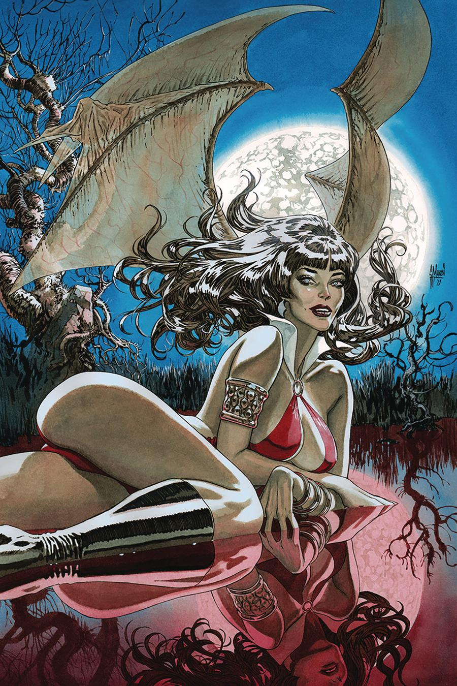 Vampirella Vol 8 #9 Cover R Incentive Guillem March Virgin Cover