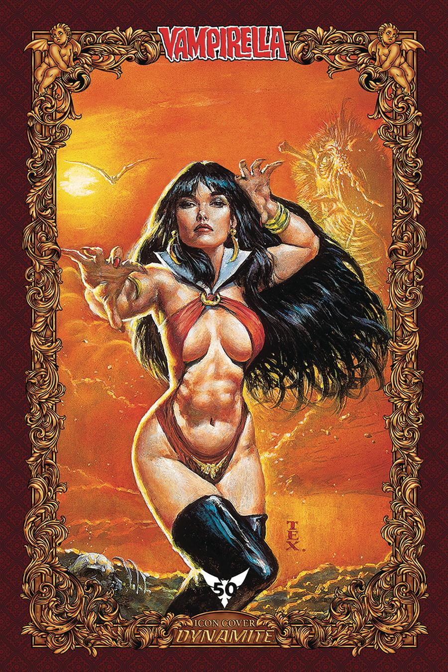 Vampirella Vol 8 #9 Cover T Incentive Mark Texeira Icon Edition Variant Cover