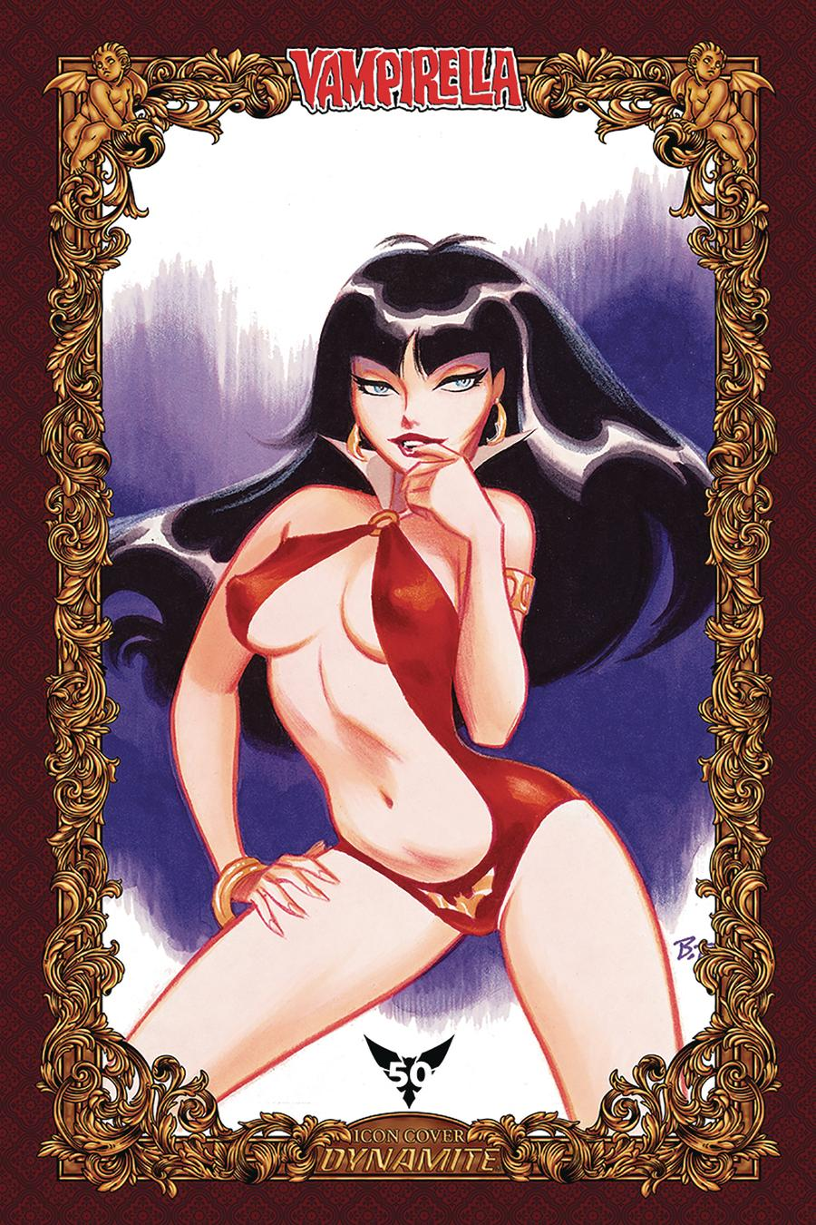 Vampirella Vol 8 #9 Cover U Incentive Bruce Timm Icon Edition Variant Cover