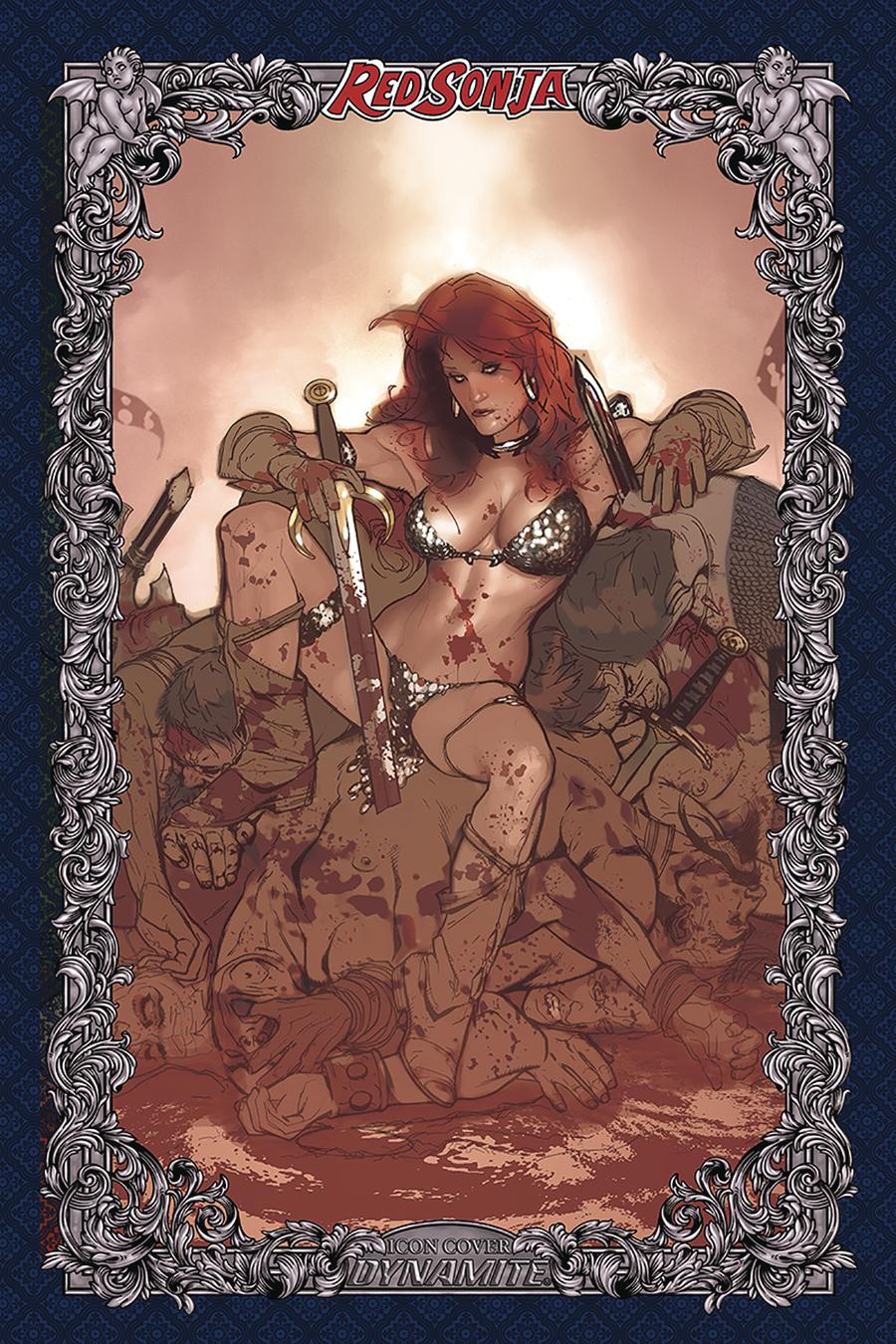 Red Sonja Age Of Chaos #3 Cover U Incentive Adam Hughes Icon Edition Variant Cover