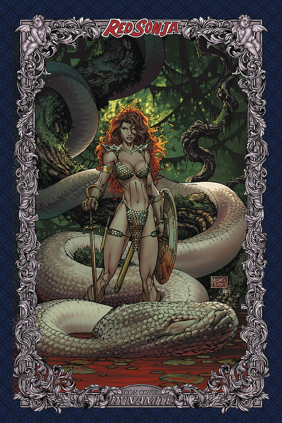 Red Sonja Age Of Chaos #3 Cover V Incentive Michael Turner Icon Edition Variant Cover