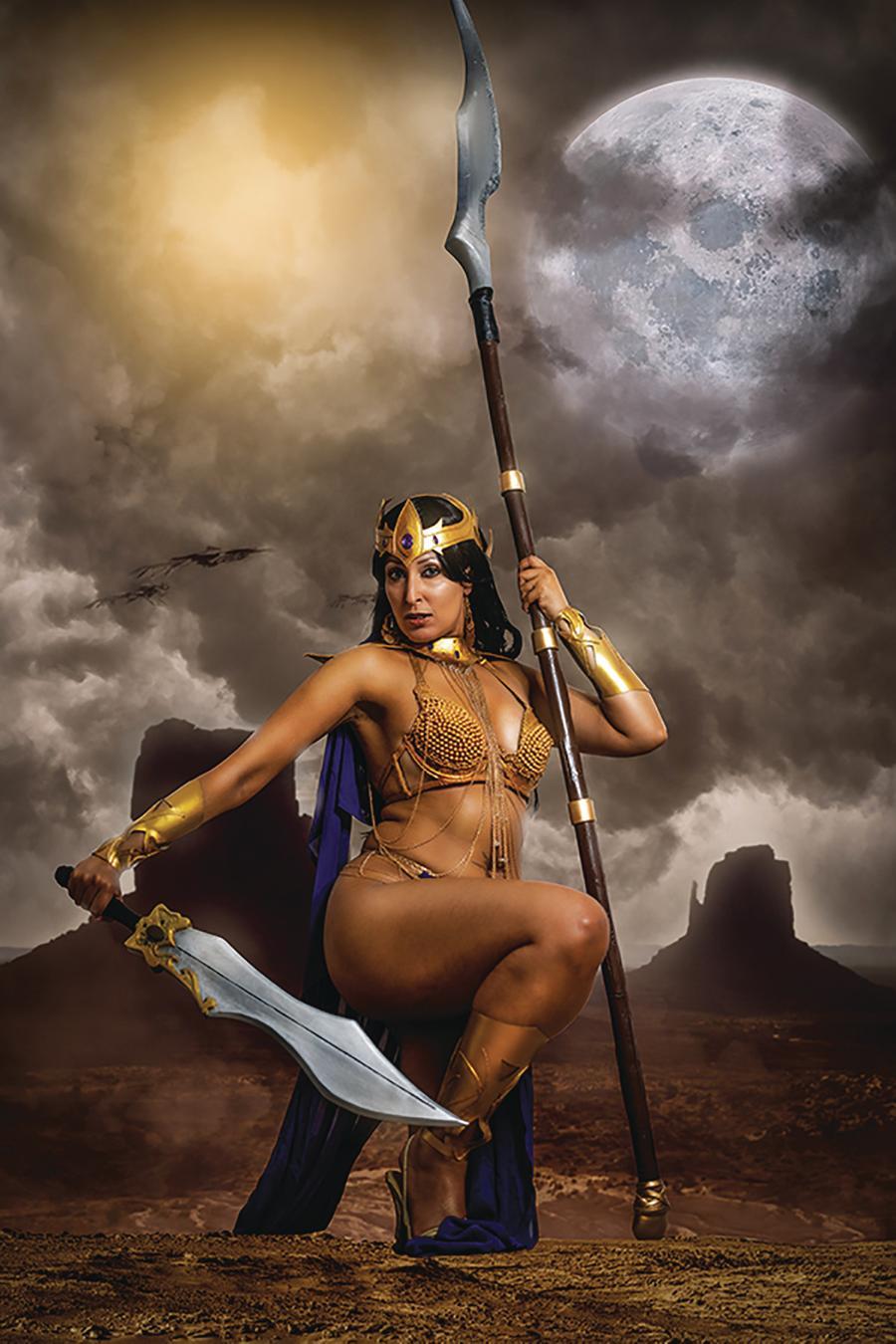 Dejah Thoris Vol 3 #4 Cover O Incentive Tasha Cosplay UK Photo Virgin Cover