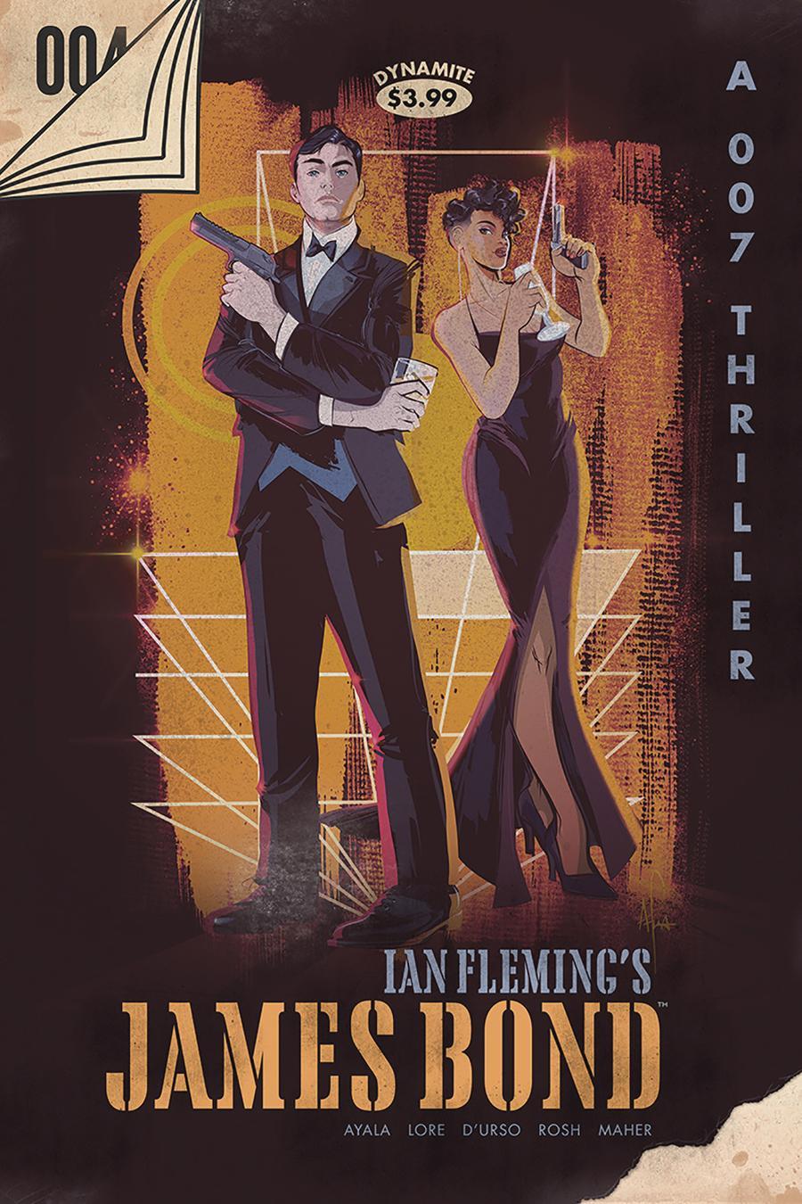 James Bond Vol 3 #4 Cover F Incentive Afua Richardson Vintage Paperback Cover