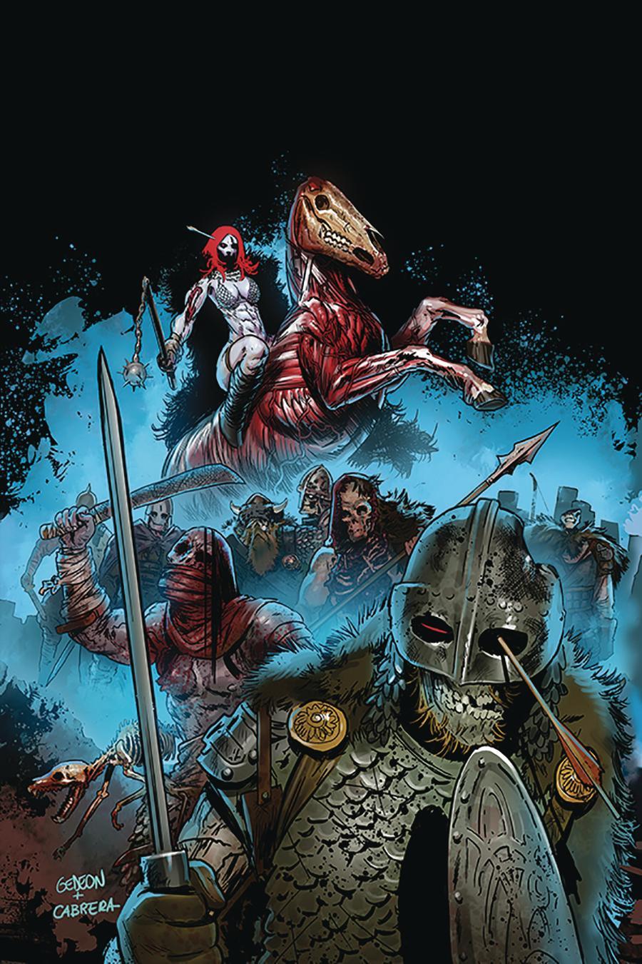 Red Sonja Vol 8 #14 Cover K Incentive Juan Gedeon Zombie Virgin Cover