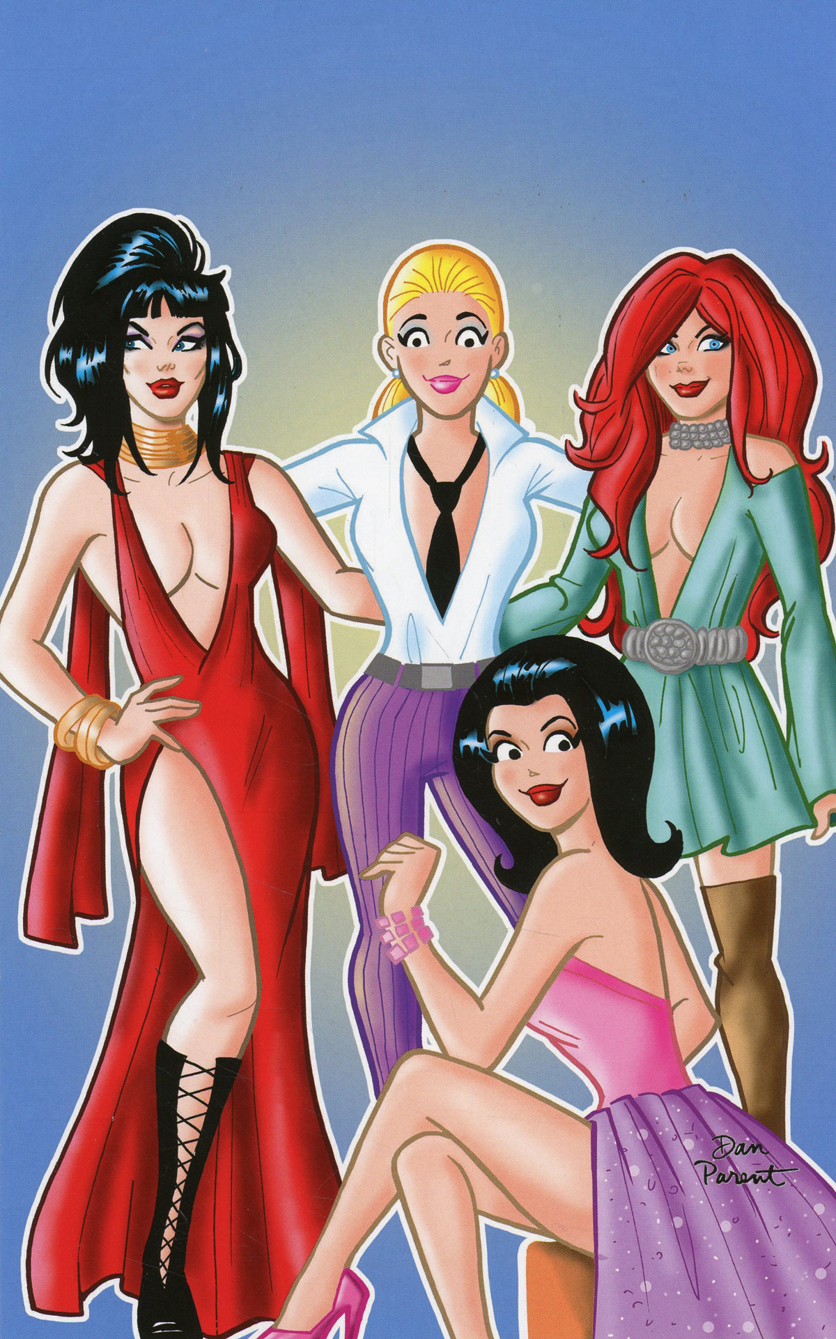 Red Sonja And Vampirella Meet Betty And Veronica #10 Cover O Incentive Dan Parent Virgin Cover