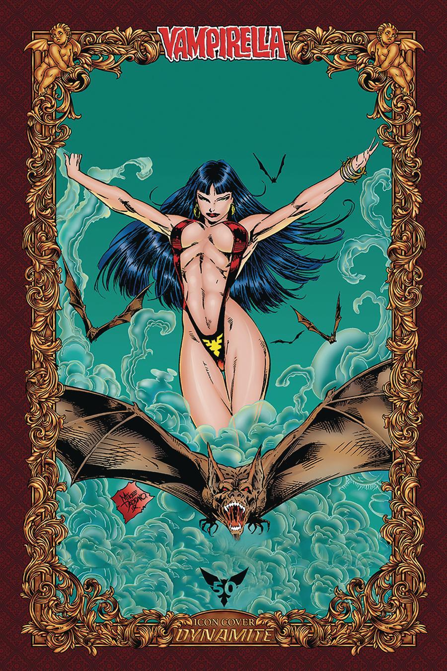 Vengeance Of Vampirella Vol 2 #6 Cover O Incentive Mike Deodato Jr Icon Edition Variant Cover