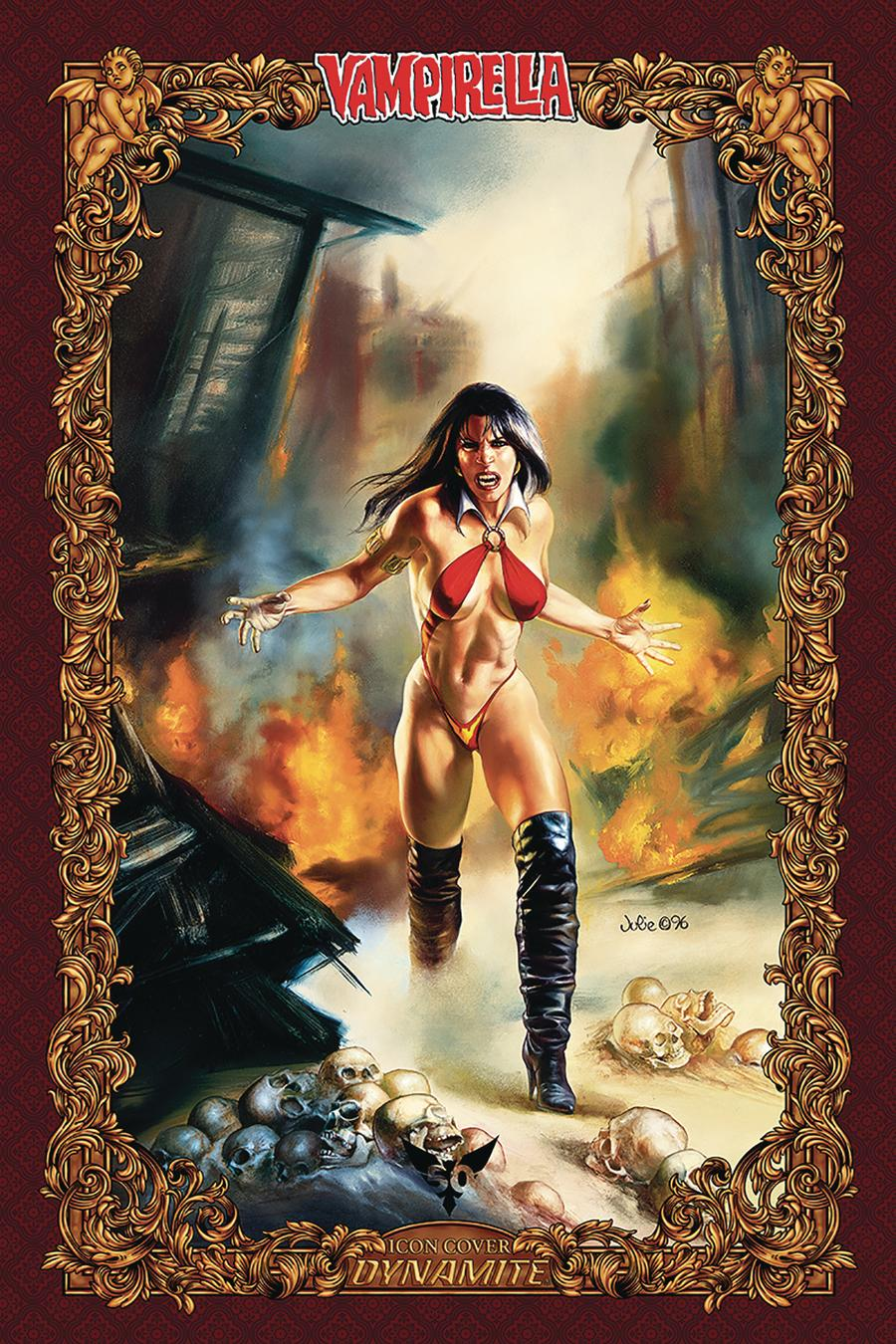 Vengeance Of Vampirella Vol 2 #6 Cover P Incentive Julie Bell Icon Edition Variant Cover