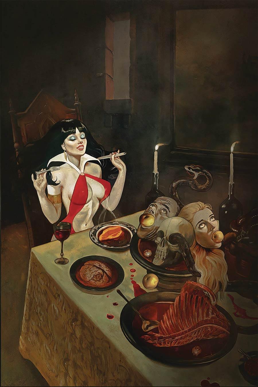 Vampirella Vol 8 #9 Cover X Limited Edition Fay Dalton Virgin Cover