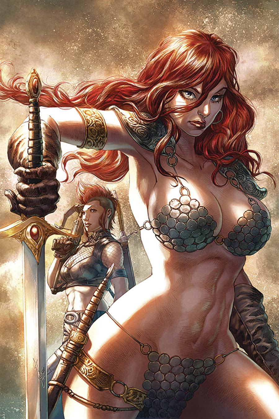 Red Sonja Age Of Chaos #3 Cover Y Limited Edition Alan Quah Virgin Cover