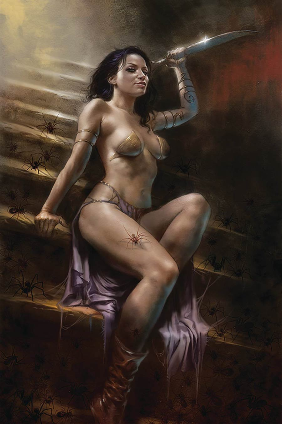 Dejah Thoris Vol 3 #4 Cover R Limited Edition Lucio Parrillo Virgin Cover