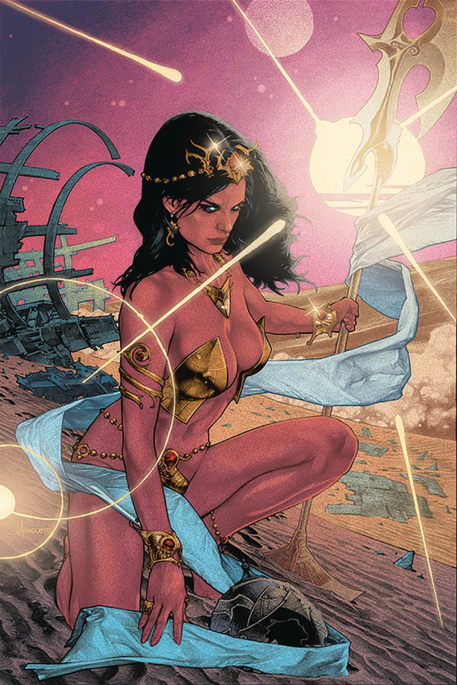 Dejah Thoris Vol 3 #4 Cover S Limited Edition Jay Anacleto Virgin Cover