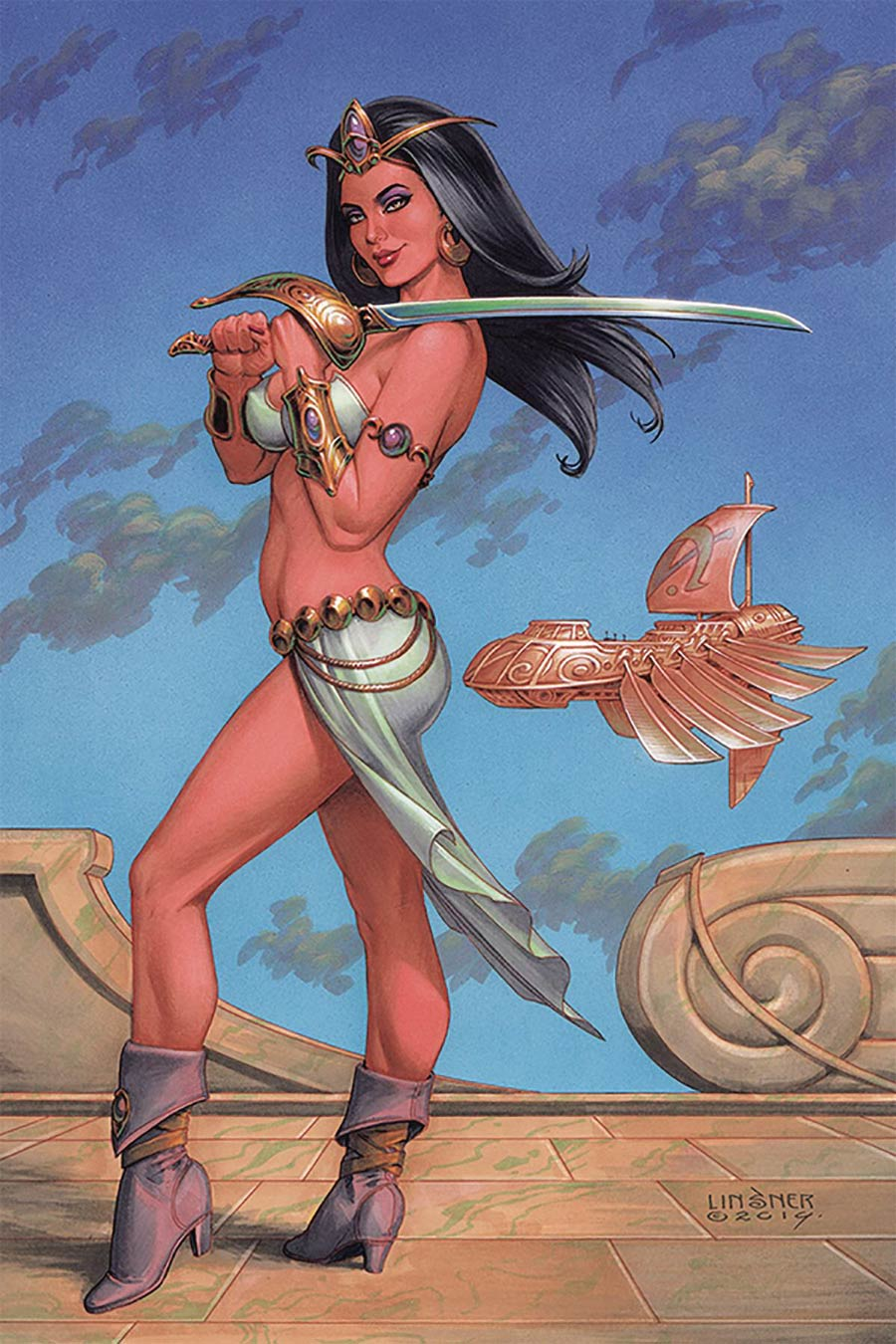 Dejah Thoris Vol 3 #4 Cover T Limited Edition Joseph Michael Linsner Virgin Cover