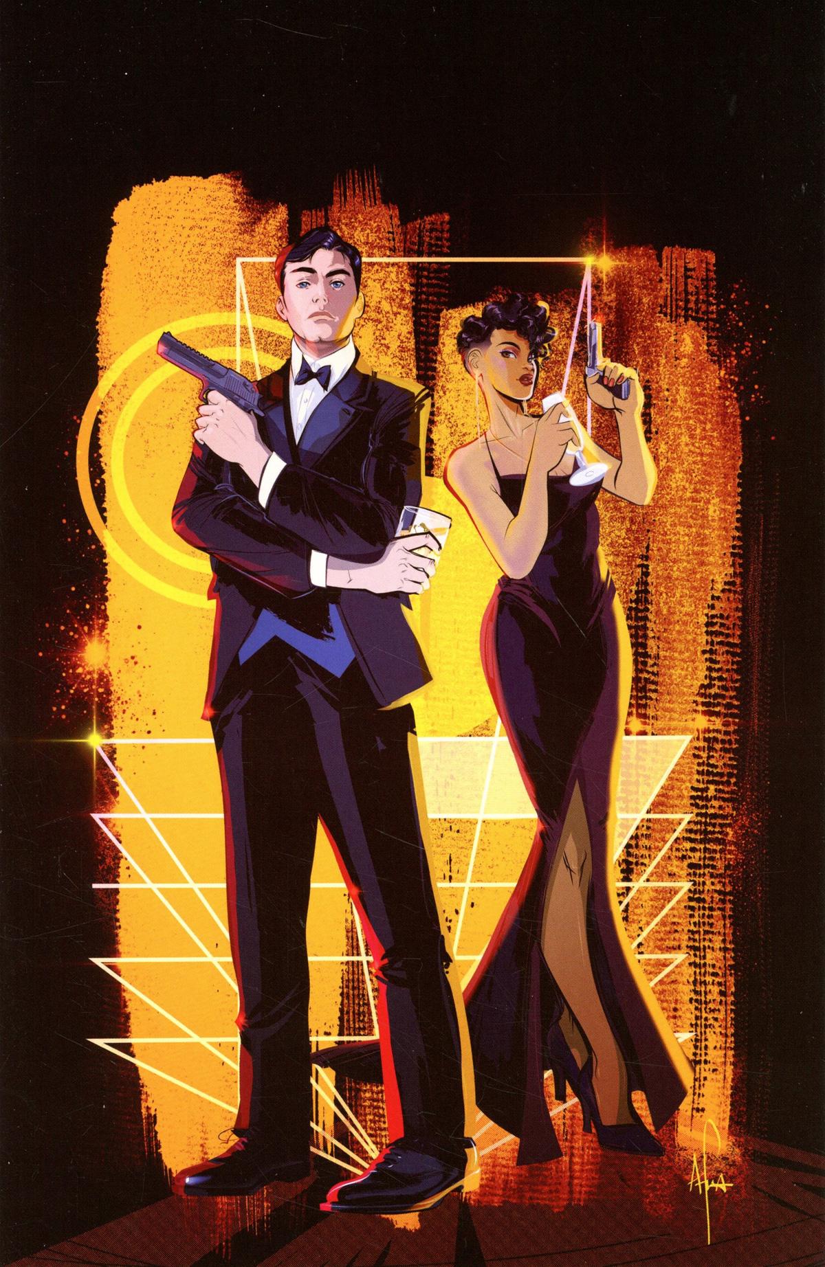 James Bond Vol 3 #4 Cover G Limited Edition Afua Richardson Virgin Cover