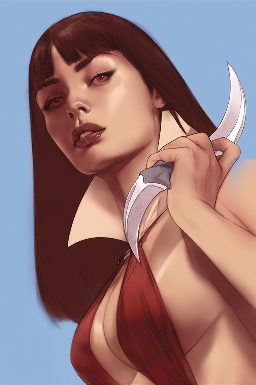 Vengeance Of Vampirella Vol 2 #6 Cover R Limited Edition Ben Oliver Virgin Cover