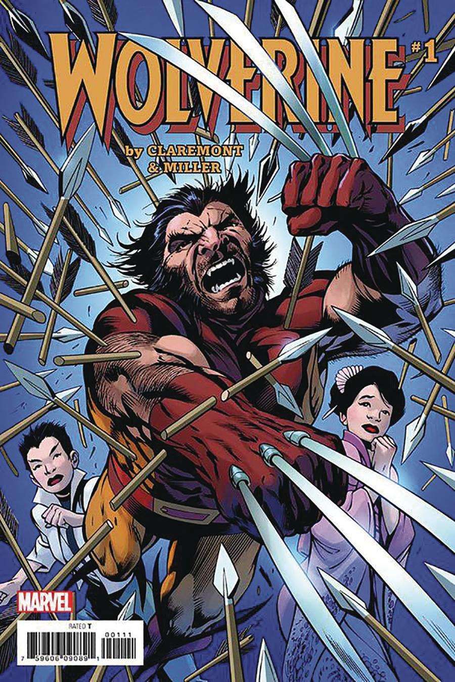 Wolverine By Claremont & Miller #1 Facsimile Edition Cover C DF Exclusive Alan Davis Variant Cover