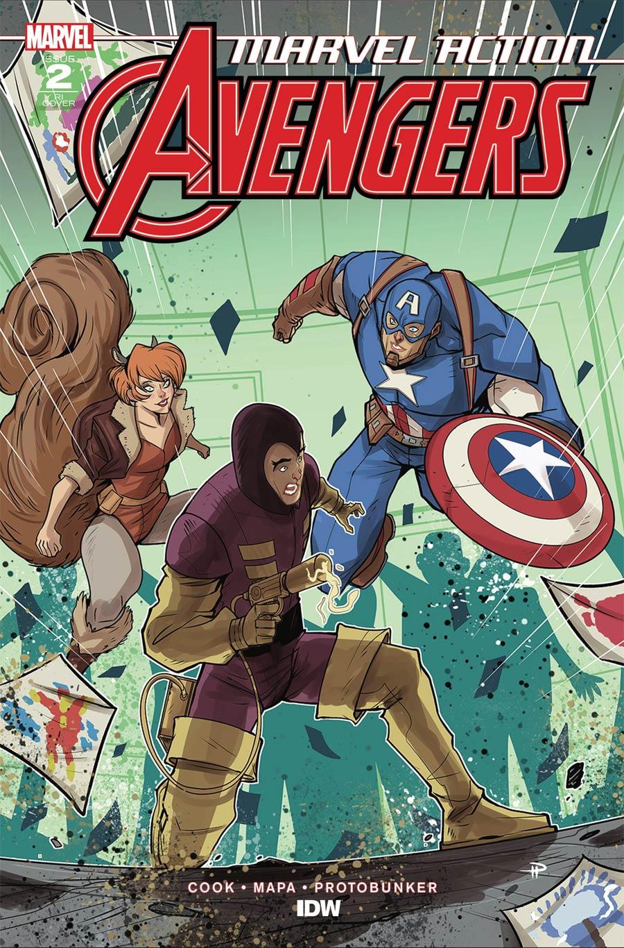 Marvel Action Avengers Vol 2 #2 Cover B Incentive Denis Medri Variant Cover