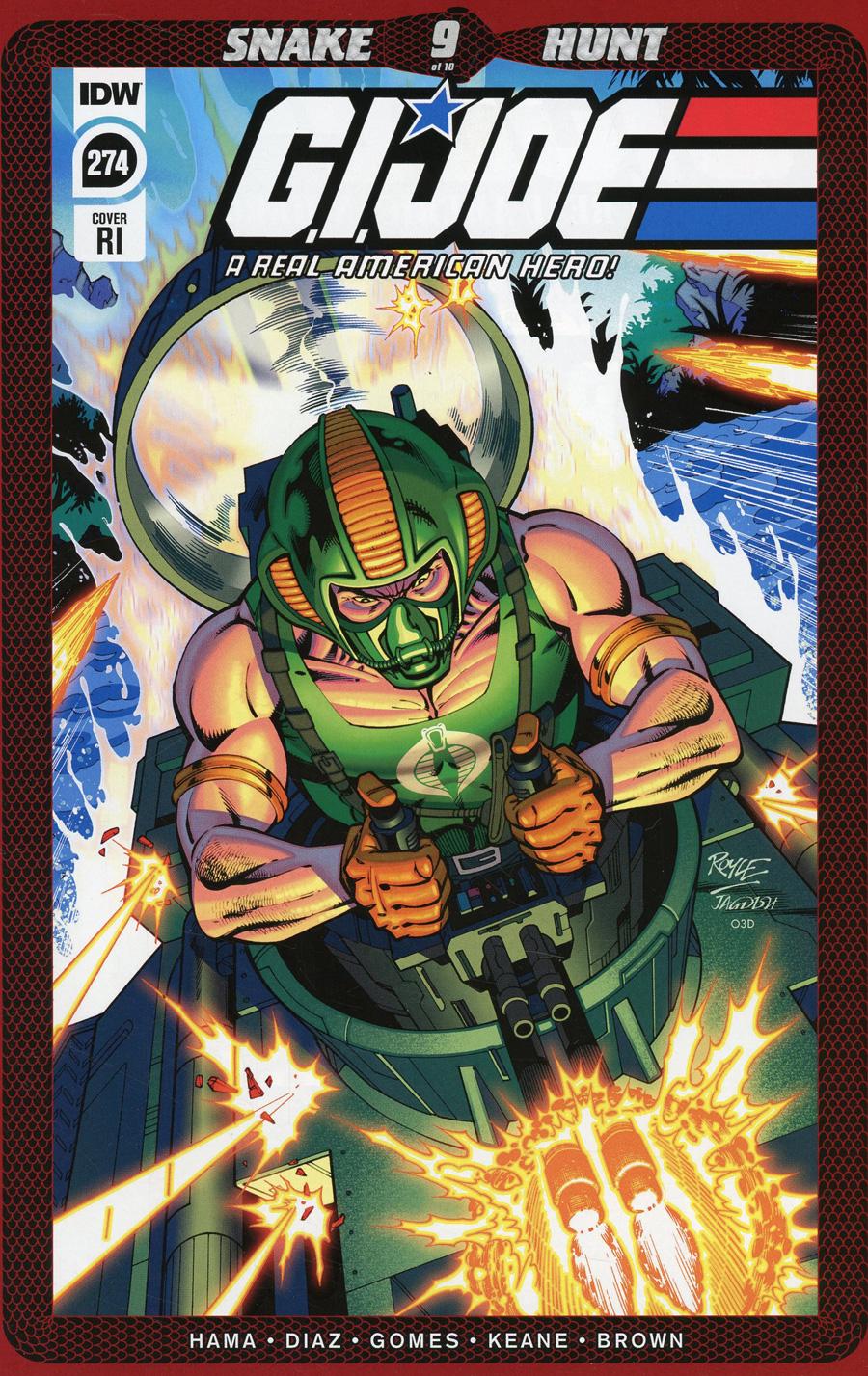 GI Joe A Real American Hero #274 Cover C Incentive John Royle Variant Cover